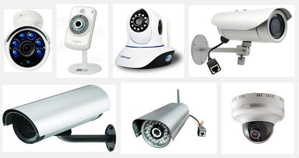 размеры камер наблюдения