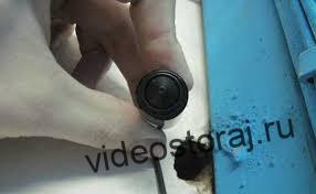 монтаж миниатюрных камер скрытого видеонаблюдения