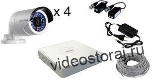 проводные комплекты видеонаблюдения