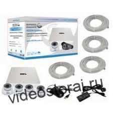 комплект видеонаблюдения для дома «RZ Rezon Quattro D»
