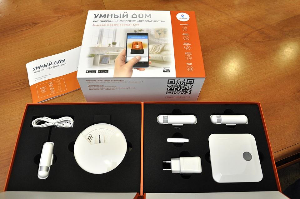 «Умный дом» — готовая система видеонаблюдения от «РосТелекома»