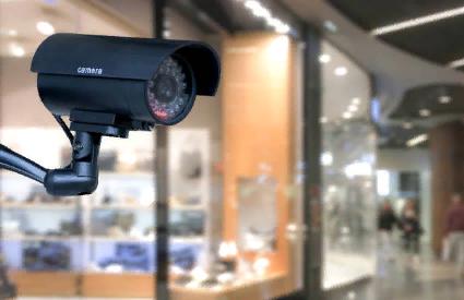 Видеонаблюдение а магазине