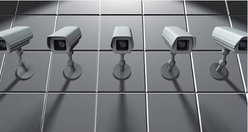 места установки камер слежения
