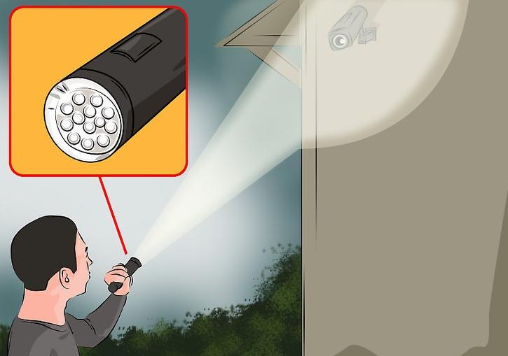 что использовать для глушилки камер наблюдения