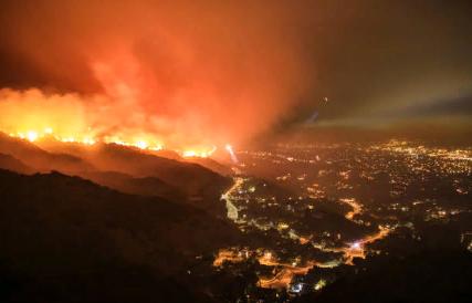 Распространяющийся пожар