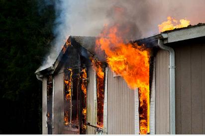 Основные фазы возгорания
