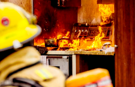 Бытовые пожары