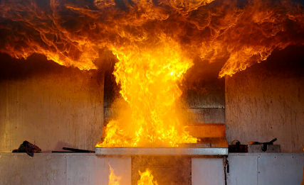 Особенности пожаров в быту