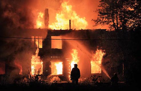 Последствия от пожаров
