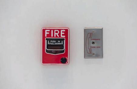 Пожарная сигнализация в помещении