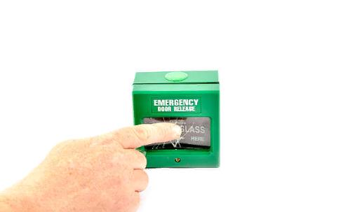 Как подавать сигнал пожарной тревоги