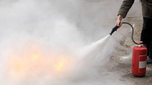 Эксплуатация пенных огнетушителей