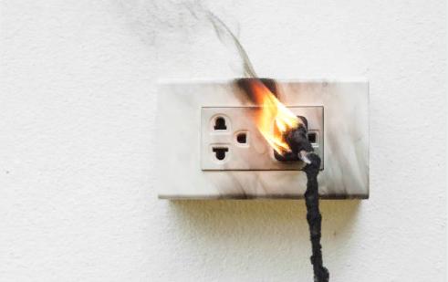 Пожар из-за возгорания электрооборудования и электроустановок
