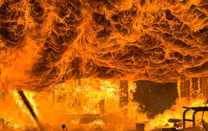 Классификация материалов при возгорании