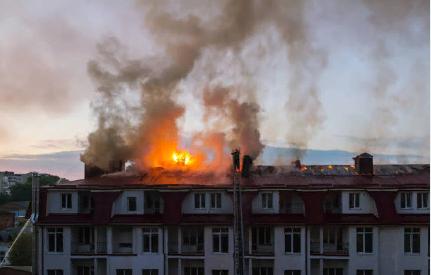 Возгорание в зданиях и сооружениях