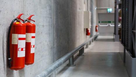 Применение огнетушителя