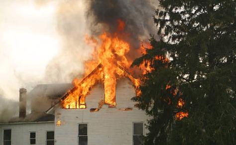 Основная стадия пожара