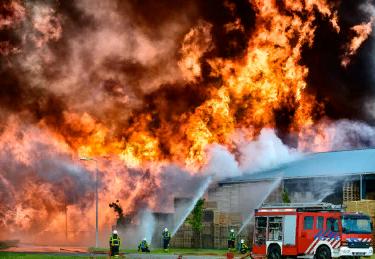 Характеристики пожара
