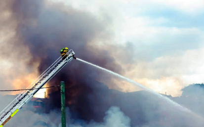 Дымовая завеса как первичный фактор пожара