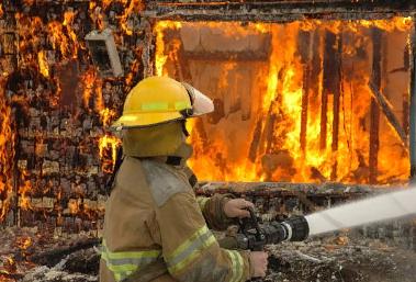 Паника при пожаре