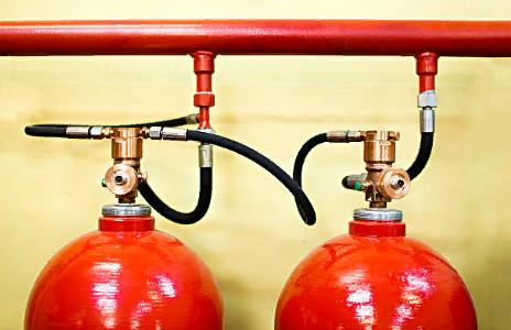Что входит в газовое пожаротушение