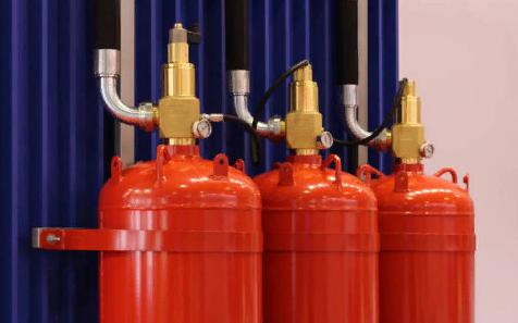 Виды сиситем газового пожаротушения