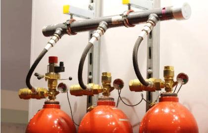 Централизованная система газового тушения пожара