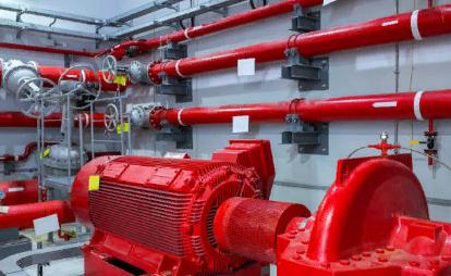 Обустройство пожарного трубопровода