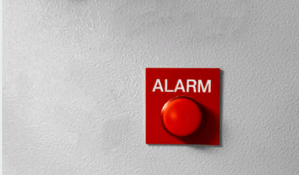 Применение кнопок пожарной сигнализации