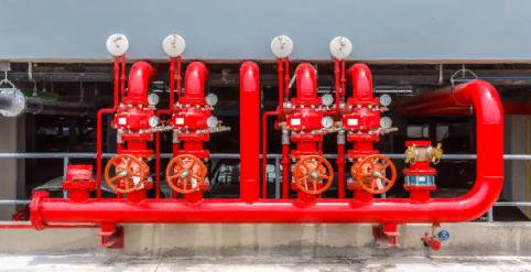 Описание противопожарного водоснабжения