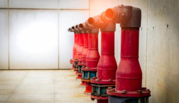 Где нельзя монтировать пожарный кран