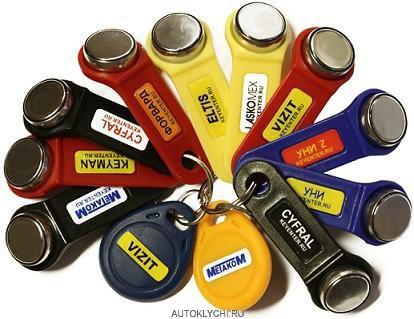 универсальные ключи для домофона