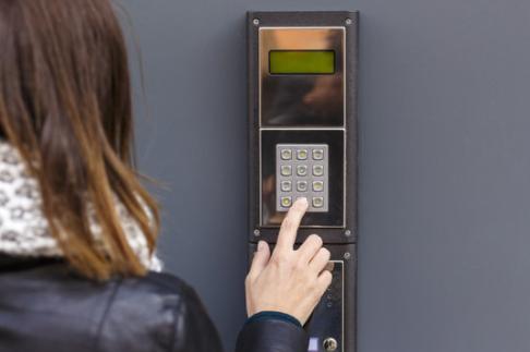 как открыть домофон визит без ключа